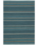 RugStudio presents Kathy Ireland Ki08 Griot Ki805 Turquoise Woven Area Rug