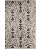 RugStudio presents Nourison Kindred Kin02 Silver Machine Woven, Good Quality Area Rug