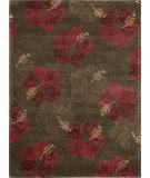RugStudio presents Nourison Lakeside LAK02 Chocolate Red Hand-Tufted, Good Quality Area Rug