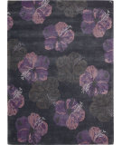 RugStudio presents Nourison Lakeside LAK02 Ink Plum Hand-Tufted, Good Quality Area Rug