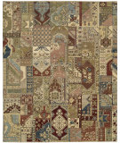 RugStudio presents Nourison Legend Ld05 Multicolor Hand-Knotted, Best Quality Area Rug