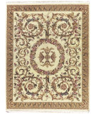 RugStudio presents Nourison Legacy LE-60 Beige Hand-Knotted, Better Quality Area Rug