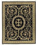 RugStudio presents Nourison Legacy Le-60 Black Hand-Knotted, Better Quality Area Rug