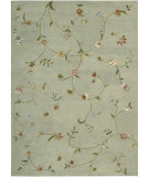 RugStudio presents Nourison Modern Elegance LH-02 Sage Hand-Tufted, Best Quality Area Rug