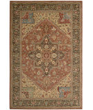 RugStudio presents Nourison Living Treasures LI-01 Rust Machine Woven, Best Quality Area Rug