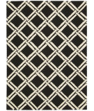 RugStudio presents Nourison Linear Lin04 Black - White Hand-Tufted, Good Quality Area Rug