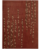 RugStudio presents Nourison Radiant Impressions LK-04 Crimson Machine Woven, Best Quality Area Rug