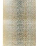 RugStudio presents Nourison Luminance Lum03 Sea Mist Machine Woven, Good Quality Area Rug