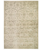 RugStudio presents Nourison Luminance Lum04 Cream Mint Machine Woven, Good Quality Area Rug