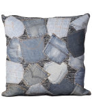 RugStudio presents Nourison Pillows Denim M6256 Denim
