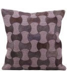RugStudio presents Nourison Pillows Natural Leather Hide M919 Lilac