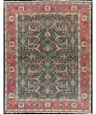 RugStudio presents Nourison Millennia MI20 Green Flat-Woven Area Rug