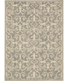 RugStudio presents Nourison Marina Mrn10 Silver Hand-Tufted, Good Quality Area Rug