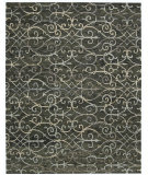 RugStudio presents Nourison Tahoe Modern Mta05 Charcoal Hand-Knotted, Best Quality Area Rug