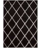 RugStudio presents Joseph Abboud Monterey Mtr01 Black / White Woven Area Rug
