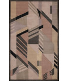 RugStudio presents Nourison Dimensions ND-06 Grey Hand-Tufted, Best Quality Area Rug