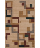 RugStudio presents Nourison Dimensions ND-17 Beige Hand-Tufted, Best Quality Area Rug