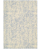 RugStudio presents Nourison Nepal Nep11 Ivory Blue Machine Woven, Good Quality Area Rug
