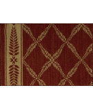 RugStudio presents Nourison Chateau Provence No01 Ruby Machine Woven, Good Quality Area Rug