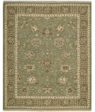 RugStudio presents Nourison Nourmak Encore Noe03 Chocolate Mint Woven Area Rug
