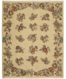 RugStudio presents Nourison Nourmak Encore Noe09 Light Gold Woven Area Rug