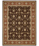RugStudio presents Nourison Persian Crown Pc001 Dark Brown Machine Woven, Best Quality Area Rug
