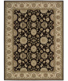 RugStudio presents Nourison Persian Crown Pc002 Black Machine Woven, Best Quality Area Rug