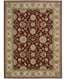 RugStudio presents Nourison Persian Crown Pc002 Red Machine Woven, Best Quality Area Rug