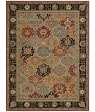 RugStudio presents Nourison Persian Crown Pc004 Black Machine Woven, Best Quality Area Rug