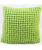 RugStudio presents Nourison Pillows Pom Pom36 Green