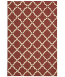 RugStudio presents Nourison Portico Por01 Red Hand-Tufted, Good Quality Area Rug