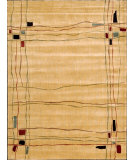 RugStudio presents Nourison Parallels PR-01 Beige Machine Woven, Better Quality Area Rug