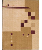 RugStudio presents Nourison Parallels PR-03 Beige Machine Woven, Better Quality Area Rug