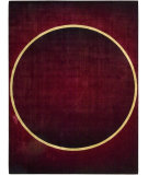 RugStudio presents Nourison Parallels PR-13 Burgundy Machine Woven, Best Quality Area Rug