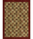 RugStudio presents Nourison Parallels PR-18 Brick Machine Woven, Better Quality Area Rug