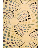 RugStudio presents Rugstudio Sample Sale 32633R Ivory Machine Woven, Better Quality Area Rug