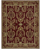 RugStudio presents Nourison Parthia PT-02 Burgundy Machine Woven, Best Quality Area Rug