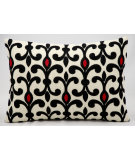 RugStudio presents Kathy Ireland Pillows Q2000 Ivory