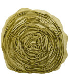 RugStudio presents Nourison Pillows Felt R2465 Yellow