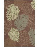 RugStudio presents Nourison Rainforest RAI02 Mocha Hand-Tufted, Good Quality Area Rug