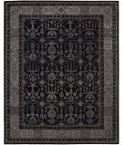RugStudio presents Nourison Regal REG-01 Black Hand-Tufted, Best Quality Area Rug