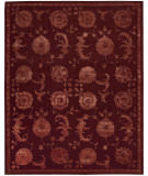 RugStudio presents Nourison Regal REG-03 Garnet Hand-Tufted, Best Quality Area Rug
