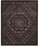 RugStudio presents Nourison Regal REG-08 Espresso Hand-Tufted, Best Quality Area Rug