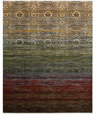RugStudio presents Nourison Rhapsody Rh002 Multicolor Machine Woven, Good Quality Area Rug