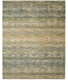 RugStudio presents Nourison Rhapsody Rh003 Beige Blue Machine Woven, Good Quality Area Rug