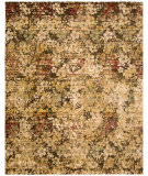 RugStudio presents Nourison Rhapsody Rh004 Beige Gold Machine Woven, Good Quality Area Rug