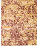 RugStudio presents Nourison Rhapsody Rh005 Gold Garnet Machine Woven, Good Quality Area Rug