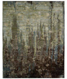 RugStudio presents Nourison Rhapsody Rh006 Seaglass Machine Woven, Good Quality Area Rug