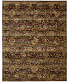 RugStudio presents Nourison Rhapsody Rh007 Ebony Machine Woven, Good Quality Area Rug