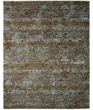 RugStudio presents Nourison Rhapsody Rh009 Blue Moss Machine Woven, Good Quality Area Rug